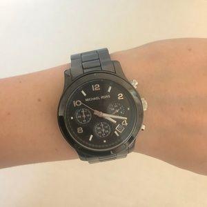 Michael Kors Sleek Black Watch